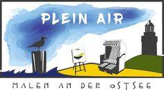 Start in die Plein Air Saison | Logo – Plein Air Festival – Malen an der Ostsee