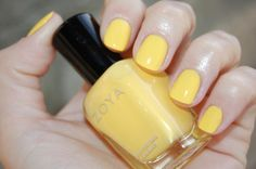 haven't been able to find a really good  yellow nail polish. perhaps i should try this one?