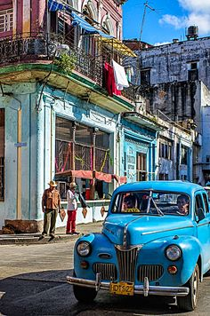Well worn Cuba...Re-pin brought to you by agents of #carinsurance at #houseofinsurance in Eugene, Oregon