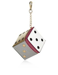Dice Purse Charm | Multi | Accessorize