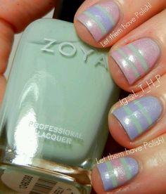 Spring2013 nails Zoya