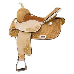 Billy Cook Saddlery Tyler Rose Barrel Saddle for sale. Saddle tree has full quarter horse bars, rose tooling, roughout fenders and seat jockeys. Barrel Saddles For Sale, Barrel Racing Saddles, Horse Supplies, Pet Supplies, Horse Tack, Cowboy Hats, Horses, Tote Bag, Cook