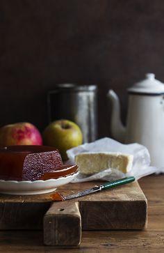 Dulce de manzana o membrillo de manzana