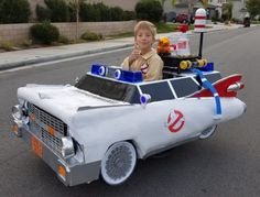 Jeremy Wins Halloween Again With Ecto-1 Wheelchair Costume