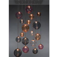 Globe Blown Glass Pendant