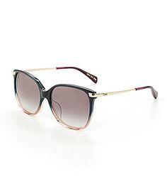 d14f7259b7b TOMS Sandela Navy Fade Oversized Sunglasses  Dillards