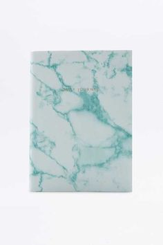 Ohh Deer Mint Marble Daily Journal