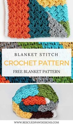 Blanket Stitch Crochet Pattern - Free Crochet Pattern - Click to Make or Pin and Save for Later!