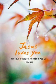 1 joh 4 : 19