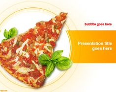 35 Best Food PowerPoint Templates images in 2019