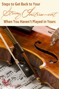 Steps to Get Back to Your String Instrument When You Haven't Played in Years https://www.connollymusic.com/stringovation/6-steps-to-get-back-to-your-string-instrument-when-you-havent-played-in-years @revellestrings