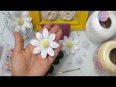 Crochet Diy, Irish Crochet, Crochet Crafts, Crochet Dolls, Crochet Flower Patterns, Crochet Flowers, Crochet Leaves, Crochet Mandala, Crochet Carpet