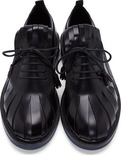 Krisvanassche Black Fringed Tongue Derbys. Zippertravel.com Digital Edition
