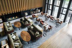 "Wide » Arquitectura | Interiorismo | Diseño » Plataforma de Arquitectura, Interiorismo y Diseño. » Hotel Four Seasons en Kyoto ""Brasserie"" / Kokaistudios"