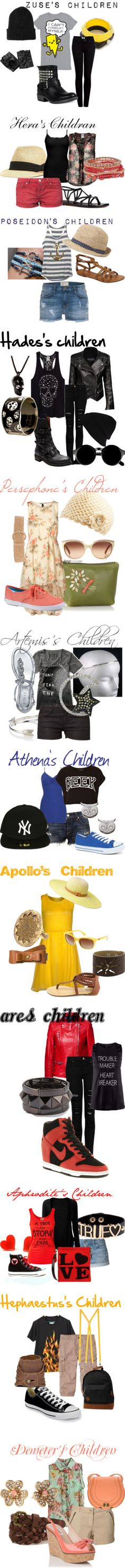 """Greek Gods and Godesses"" by iskbug on Polyvore - 'Zeus' sorry that was bothering me :))"