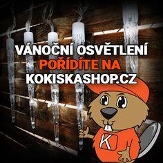 Vánoční osvětlení a spoustu dalších produktů pořídíte na Kokiskashop.cz