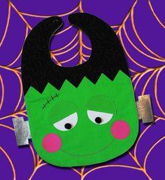 Baby Bandana Dribble Bib Bavoir Pacman Pac-Man tissu costume tenue Food jeu