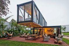 Casas construidas con contenedores marítimos http://www.icono-interiorismo.blogspot.com.es/2016/02/casas-construidas-con-contenedores.html
