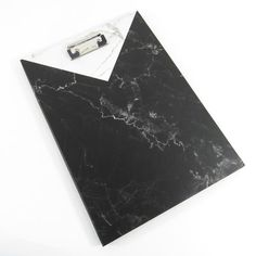 Marble padfolio with clipboard