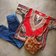 70's/80's Dashiki, size M, $24+$8 domestic shipping. 70's Levi's 646 jeans, size 28x32, $65+$16 shipping. Tooled Mexican saddle purse, $38+$16 shipping. Call 415-796-2398 to purchase or PayPal afterlifeboutique@gmail and reference item in post.