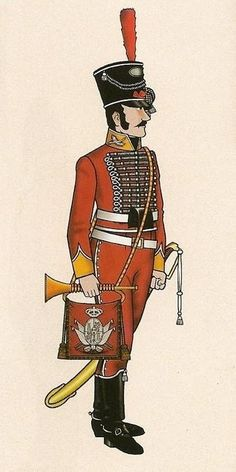 Cazadores de Olivenza 1808 Trompeta