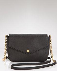 MICHAEL Michael Kors Shoulder Bag - Small Flap Leather   Bloomingdales