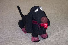 This is Scott Hooper Pattern as a gift to the Crochet Community. Scott 's family have given me permission to post this pattern online as a remembrance of the Artist he was. I helped with the pattern so I can assist you in the making of this beautiful doggie.