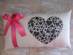 Valentine Pillow Heart Pillow Valentine by parismarketplace, $23.00