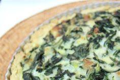 Ispanaklı Peynirli Kiş | Yemek Tarifleri | Mahmure Yemek