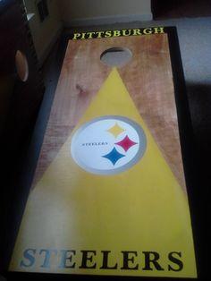 My beautiful cornhole boards
