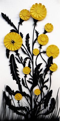 Paper Cut Artist, Martha von Maydell's Illustration Portfolio