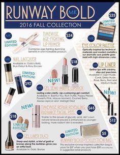 NEW! Limited-Edition† Mary Kay® Runway Bold Collection