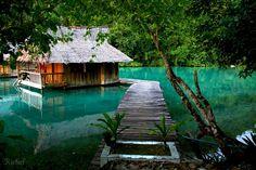 Club Tara Resort in Bucas Grande Island, #Surigao del Norte, Philippines. #RichelKing