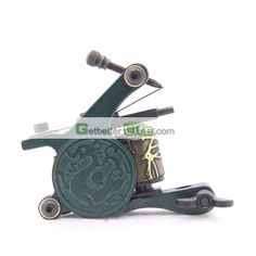 US$3.99 - New Unique Aluminium Alloy Tattoo Shader Machine Gun 10 Wrap Coils Supplies