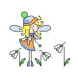 DMC Snowdrop Fairy