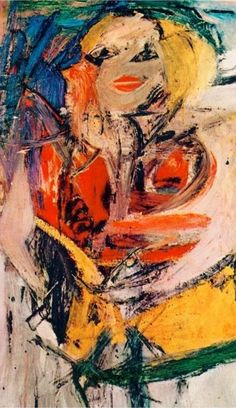 Willem de Kooning, 'Marilyn Monroe', 1954.