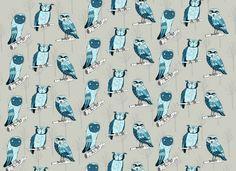 #owl pattern ©Monika Melnychuk  #textile design