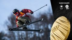 Team Canada - Cassie Sharpe wins ski halfpipe gold at PyeongChang making her Olympic debut one for the records books. 2018 Winter Olympic Games, 2018 Winter Olympics, Winter Games, Olympic Medals, Olympic Team, Different Sports, Champions, Baseball Players, Track And Field
