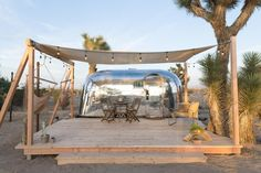 Joshua Tree Is Now Home to a Chic Airstream Oasis—Featuring 4 Trailers Available to Rent