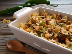 Pasta Salad, Food And Drink, Eat, Ethnic Recipes, Cooking, Crab Pasta Salad, Kitchen, Brewing, Cuisine
