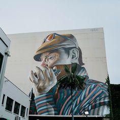Street Art by Smug in Wollongong, Australia