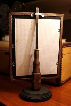 Screwdriver frame holder - LOVE it!