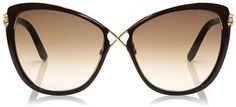 Celia Oversized Butterfly Sunglasses Tom Ford