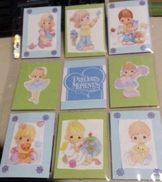 Precious Moments Pocket Letter Created by Christina Ellis