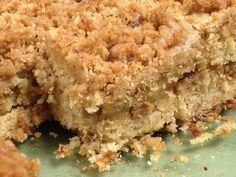 Banana bread crumb cake. This was because I was too lazy to think hard when I had to product a goodie for a sequence meeting at work. I have a lot of baggies of smooched bananas in my freezer from all those bunches I can't finish until they blacken.