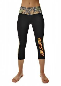 Girls With Guns Running Pant - Black/Mossy Oak Obsession Camo