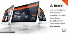 A-Bomb | News & Blog & Magazine Theme • Download theme ➝…
