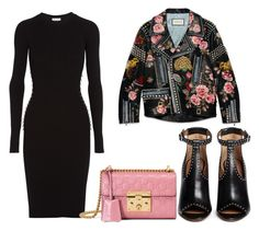 Untitled #1549 by rosechicgeorgia on Polyvore featuring polyvore fashion style Thierry Mugler Gucci Givenchy clothing