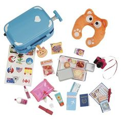 Our Generation Home Accessory - Luggage Set | Our Generation Doll