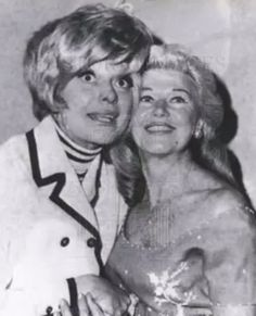 Carol Channing and Ginger Rogers